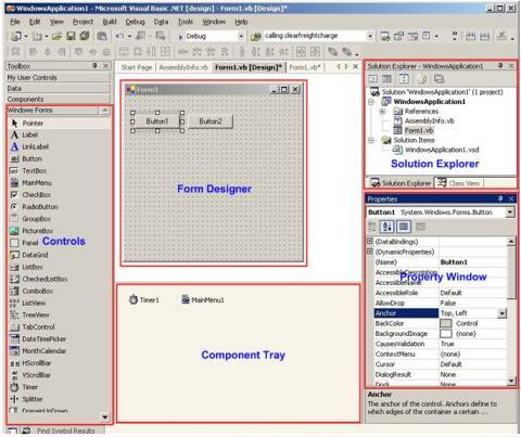 Binaryworld - Tutorial - Getting familiar with Visual Studio